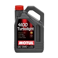 MOTUL 4100 Turbolight 10W40, 4л 109462