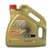 CASTROL EDGE Turbo Diesel 5W40, 4л